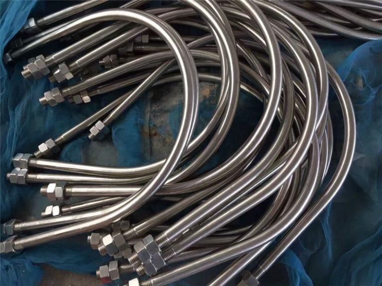alloy825 en 2.4858 스테인레스 스틸 u 볼트 합금 718 en2.4668 중국에서