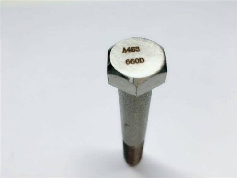 A286 고품질 패스너 ASTM A453 660 EN1.4980 하드웨어 기계 나사 고정