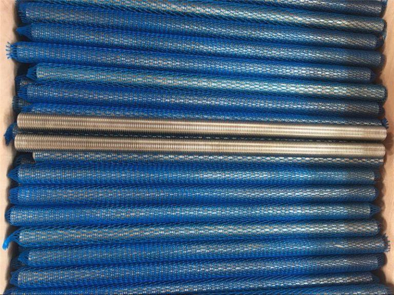 니켈 합금 인코넬 601 / 2.4851 사다리꼴 나사산 막대 새 제품