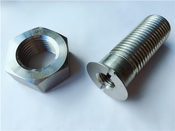주문 탄소 강철 금속 기계 설비 궤도 놀이쇠와 견과