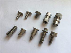 주문을 받아서 만들어진 높은 정밀도 비표준 나사, 스테인리스 cnc 기계로 가공 나사