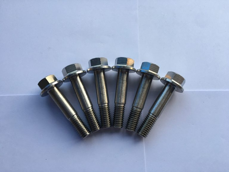 DIN 7504 Sudin 7504 슈퍼 듀플렉스 f55 스테인레스 스틸 육각 플랜지 헤드 자체 드릴링 스크류